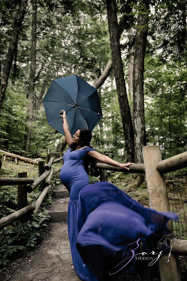 Bhaaloo: Maternity Session by Raymondskill Falls by Zorz Studios (16)