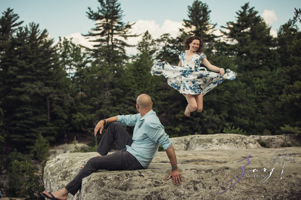 High: Lake Minnewaska Engagement by Zorz Studios (19)