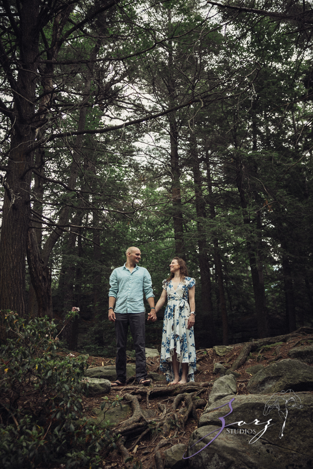 High: Lake Minnewaska Engagement by Zorz Studios (12)