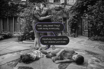 Antifam: Grey Towers Family Photoshoot Bloopers by Zorz Studios
