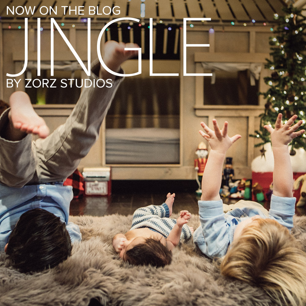 Jingle: Christmas Family Cheers for a Newborn by Zorz Studios