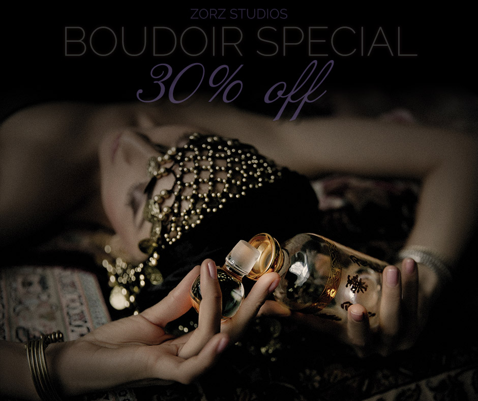Valentine Boudoir Photography Special