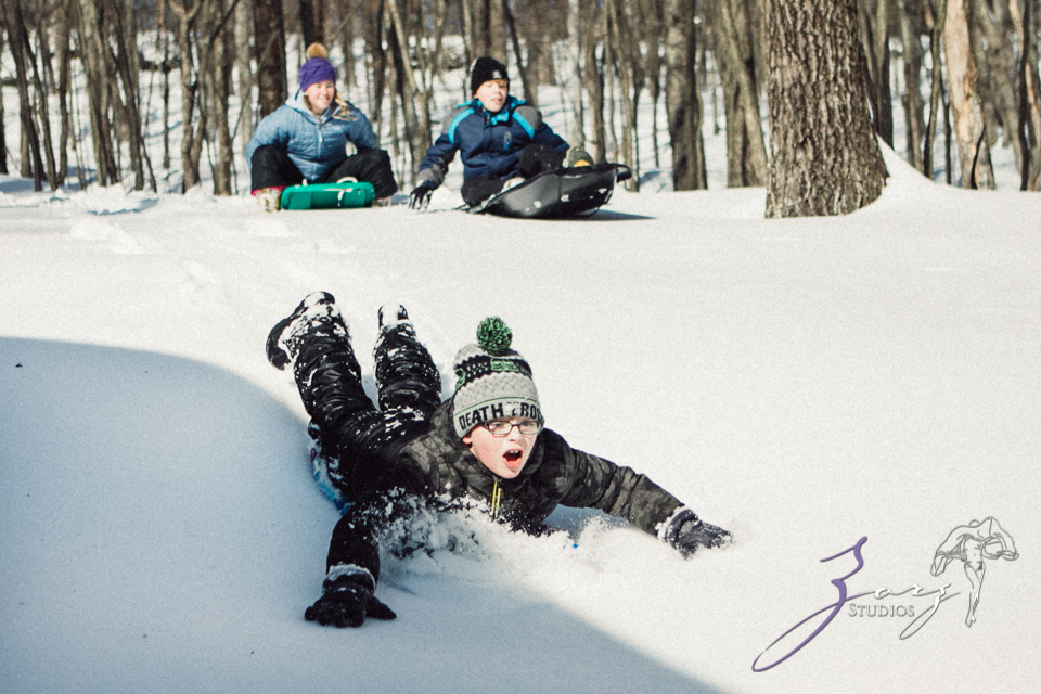 Bughouse 2: Winter Family Photography in Poconos by Zorz Studios