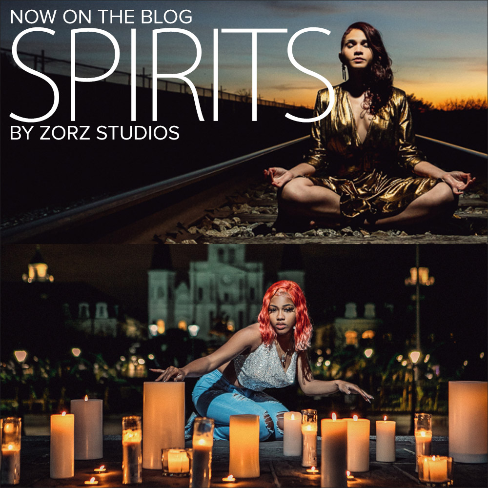 Spirits: Mother-Daughter Photoshoot in New Orleans by Zorz Studios