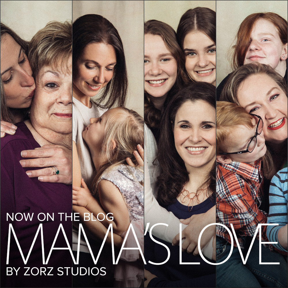 Mama's Love: Treating Clients and Friends to Free Portraits by Zorz Studios