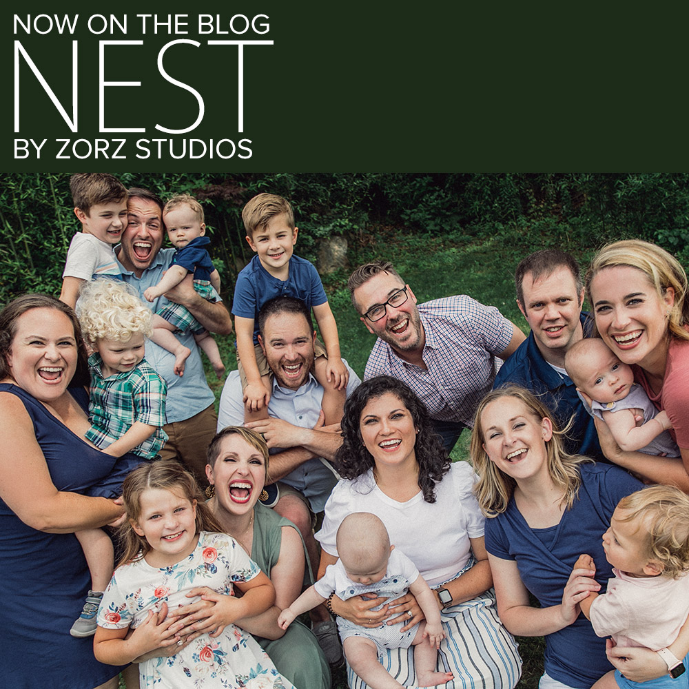 Nest: Multi-Family Photoshoot in Connecticut by Zorz Studios