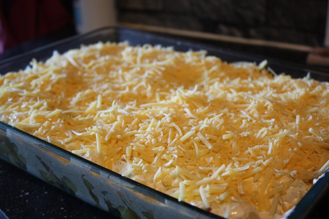 ovenschotel met kaas en prei