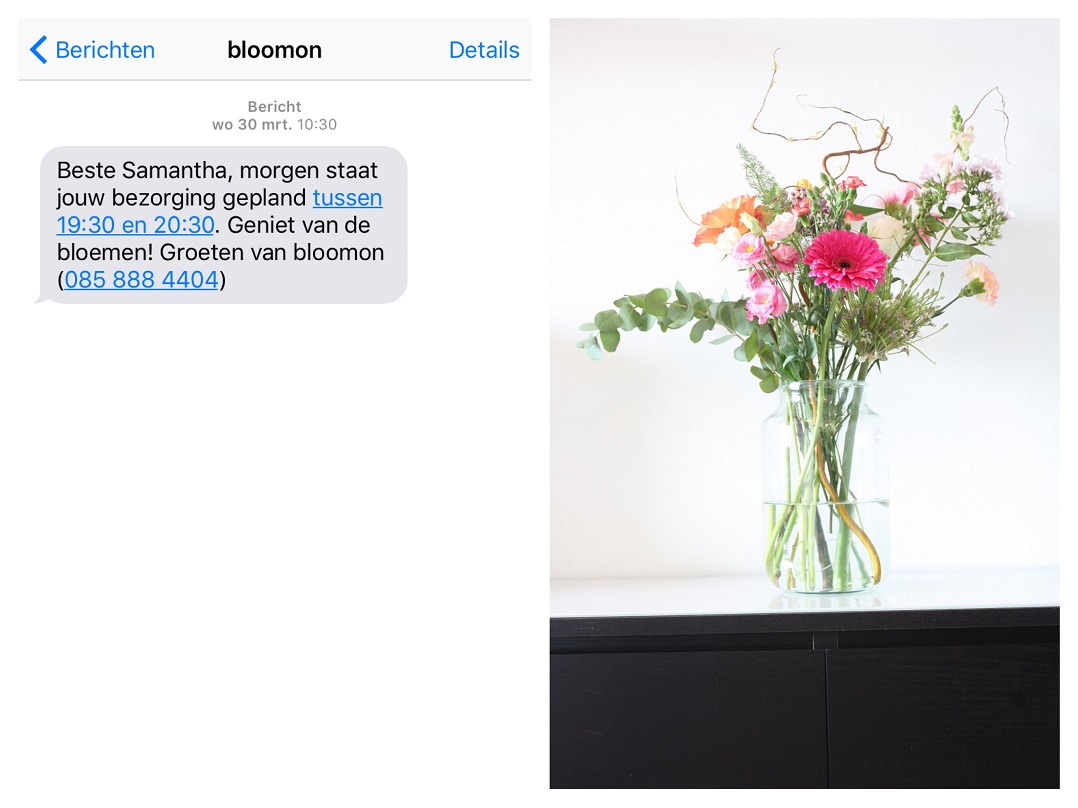 bloomon sms