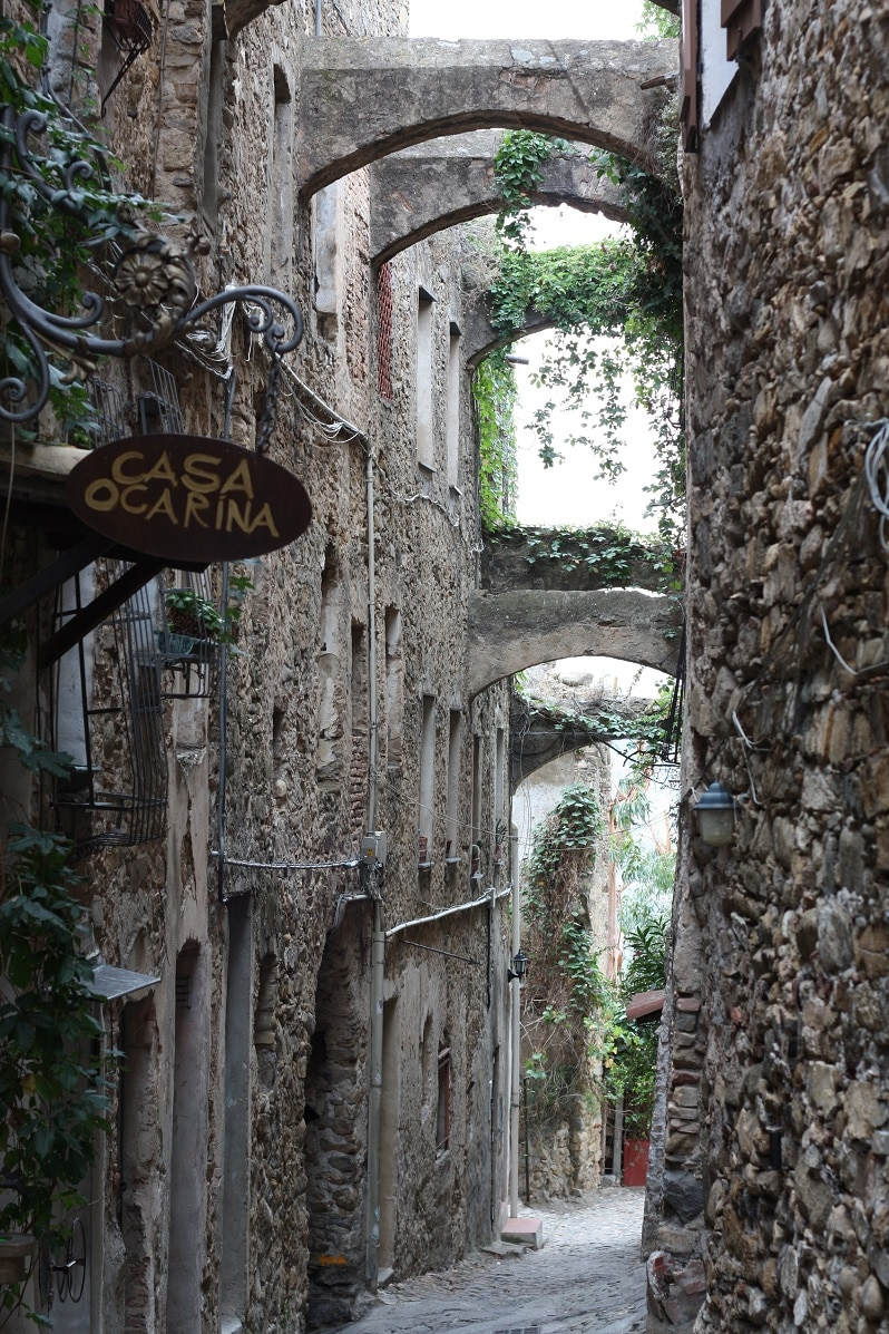 Bussana Vecchia street