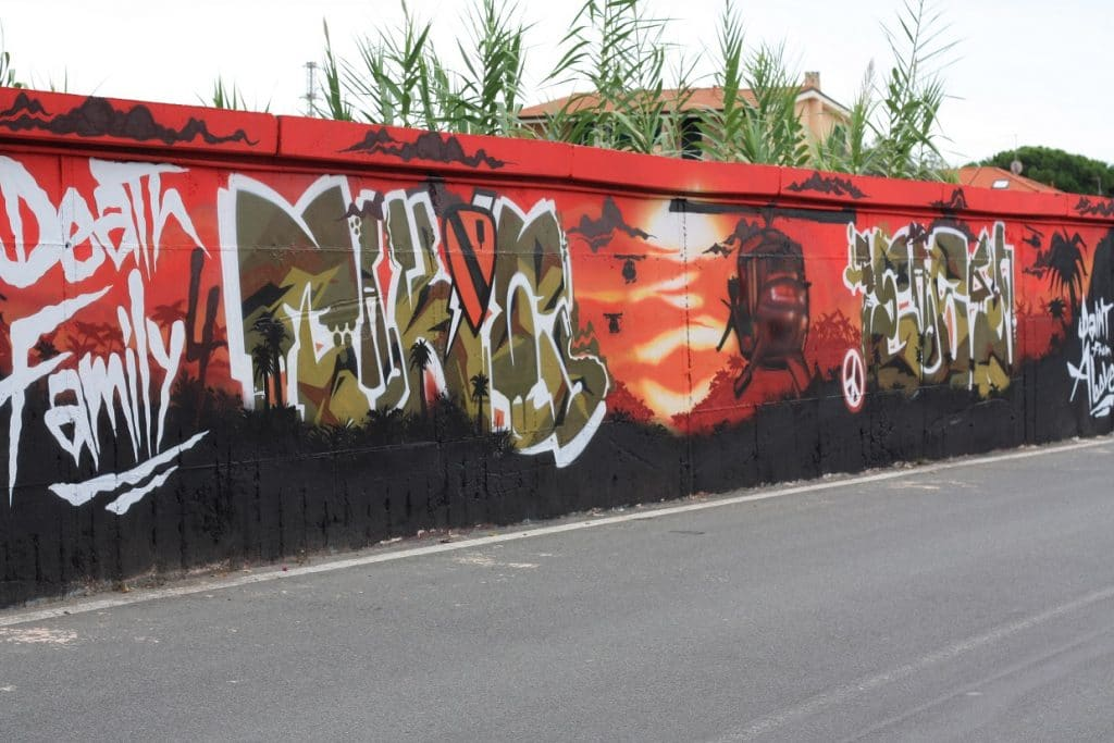 graffiti imperia