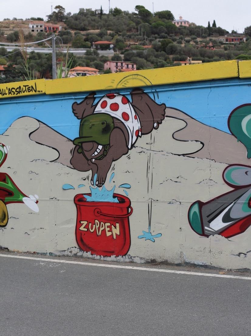 graffiti gespot