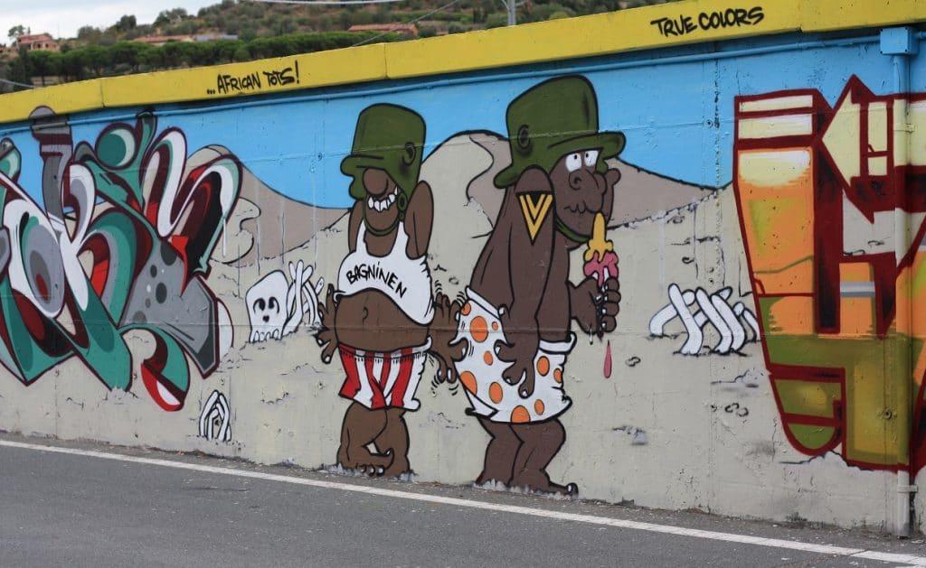 graffiti in italie