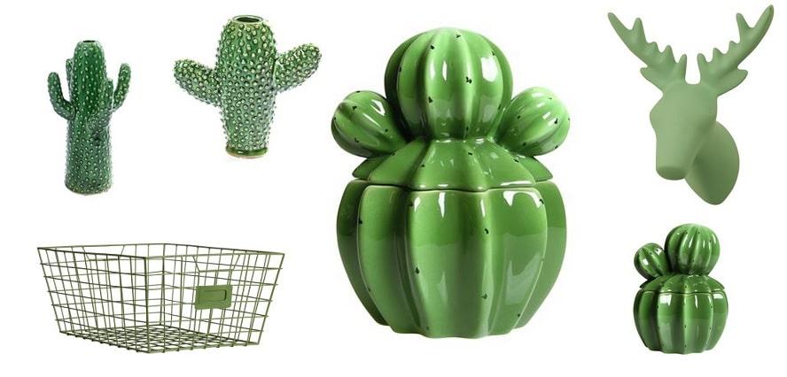 Groene woon accessoires