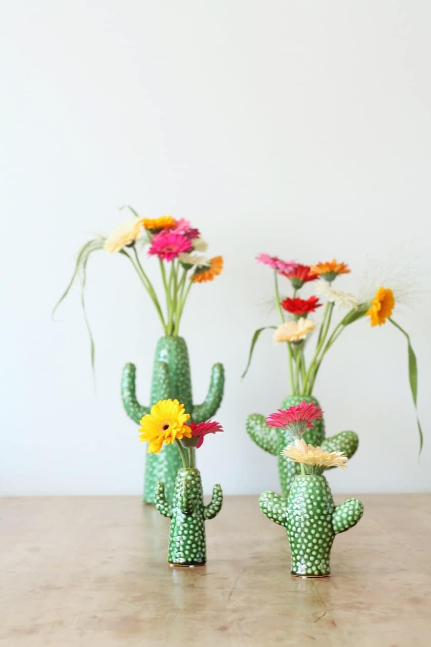 mini Serax cactus vaasjes