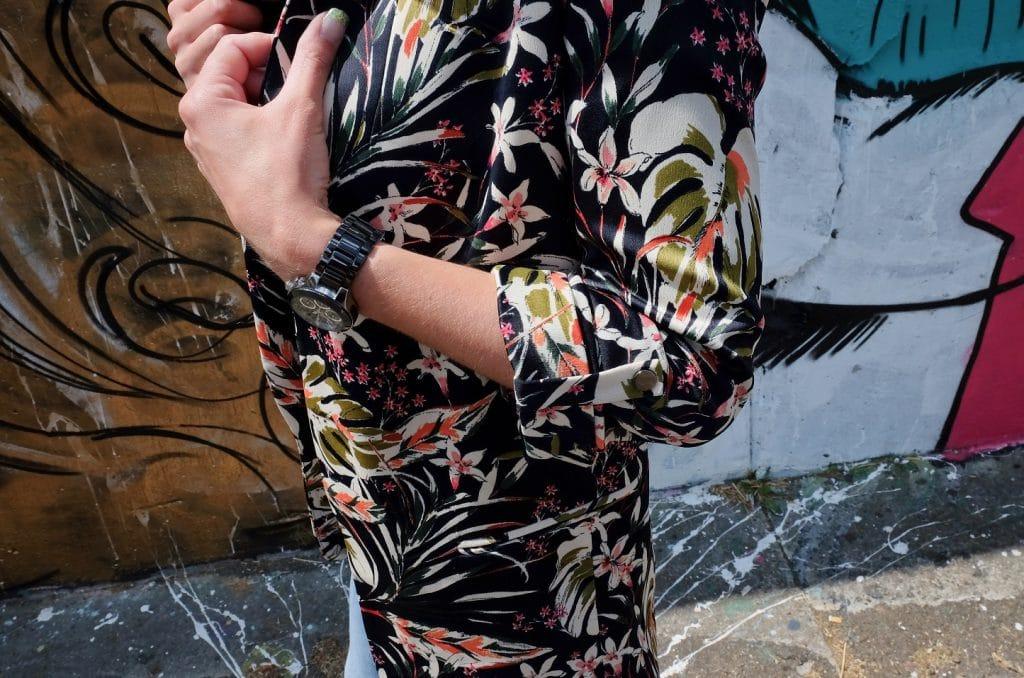 Zara blazer detail