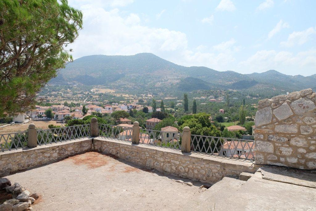 uitzicht Lesbos Petra kerk