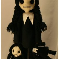 Cools Find: Wednesday Addams Doll