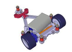 Scaleauto Studia un nuovo supporto motore AW in stampa 3DP-4