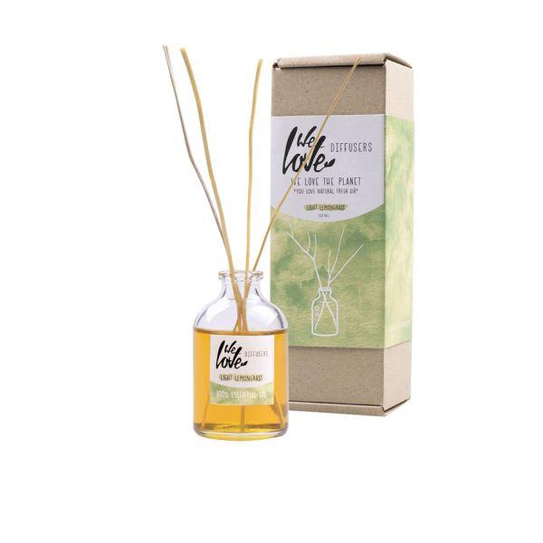 We love the planet diffuser verpakking 50ml light lemongrass