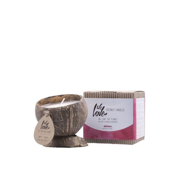 We love the planet kokosnootkaarsen sweet senses samen