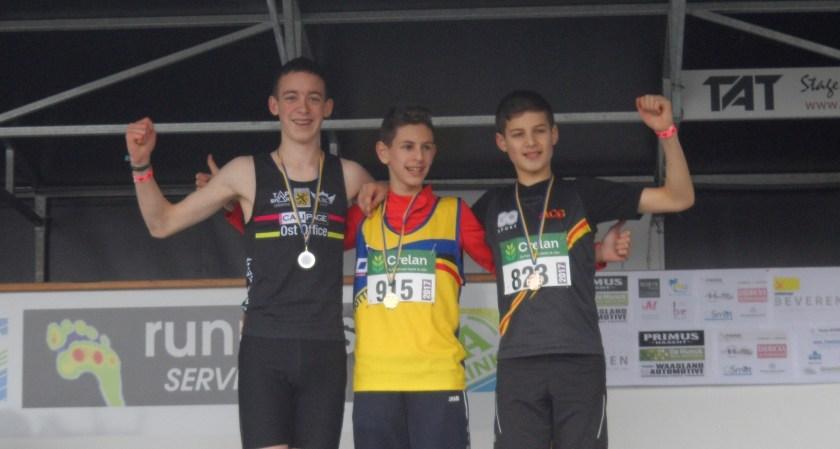 Lucas Lievens provinciaal kampioen veldlopen