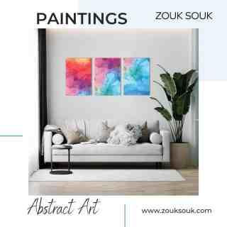 Embrace the beauty of your home with these wall arts. Visit - Link in bio  #YourComfortCompanion #Kuwait #kuwaiti #onlineshopping #Decor #decoration #zouksouk #homedecor #officedecor #interiordesign #painting #walldecor #walldecoration #walldecorideas #paintings #paintingsforhome #paintingsforsale #livingroom #livingroomdecor   #غرفةمعيشة #غرفطعام #غرفه_نوم #تصميمداخلى #ديكور #ديكوراتخارجية #ديكوراتفخمه #تصميمحدائق