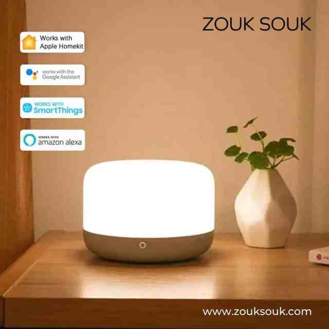 Light without limits! The bedside lamp D2 is compatible with every smart device. It not only supports control via app and voice control but can also be operated directly via the touch bars on the side.  Shop at www.zouksouk.com  #YourComfortCompanion #Kuwait #beanbag #kuwaiti #kuwaitcity #onlineshopping #Decor #decoration #zouksouk #homedecor #officedecor #furniture #furnituredesign #interiordesign #indoorbeanbag #outdoorbeanbag #beanbagchair #armchair #comfort #cozy #comfy #cozyhome