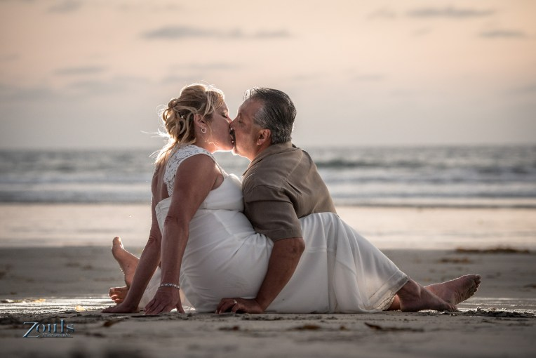 Shai & Rick Wedding at Silver Strand State Beach