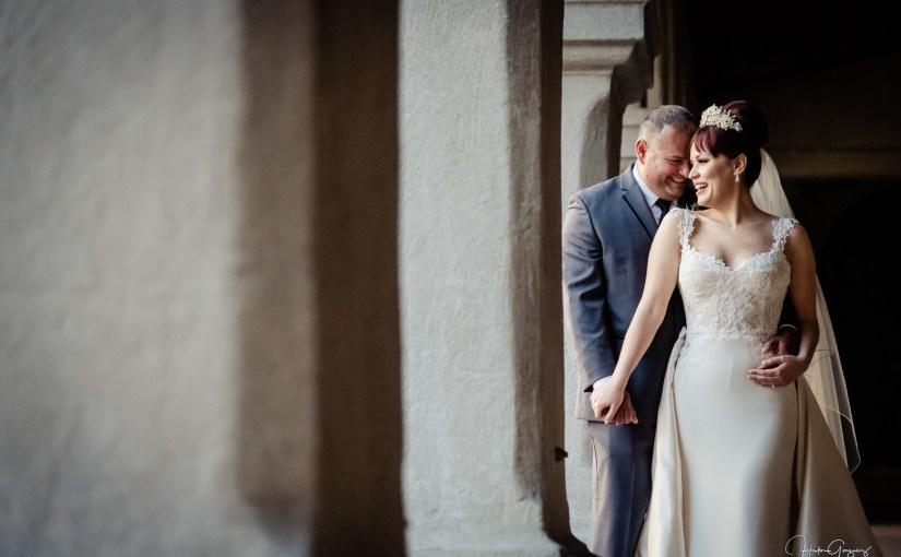 Cynthia & Humberto's Wedding at Saint Francis Chapel, Balboa Park