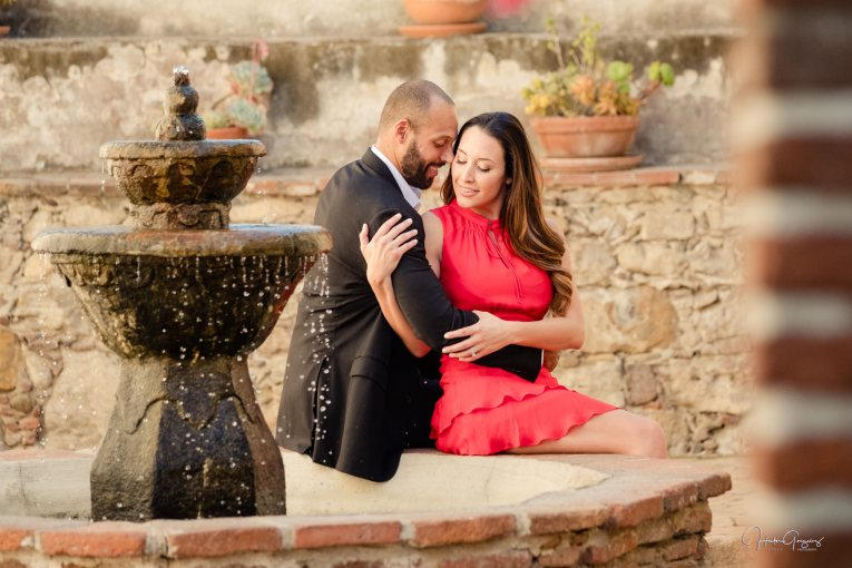 Engagement Session in San Juan Capistrano Alicia & Michael, Zouls Photography