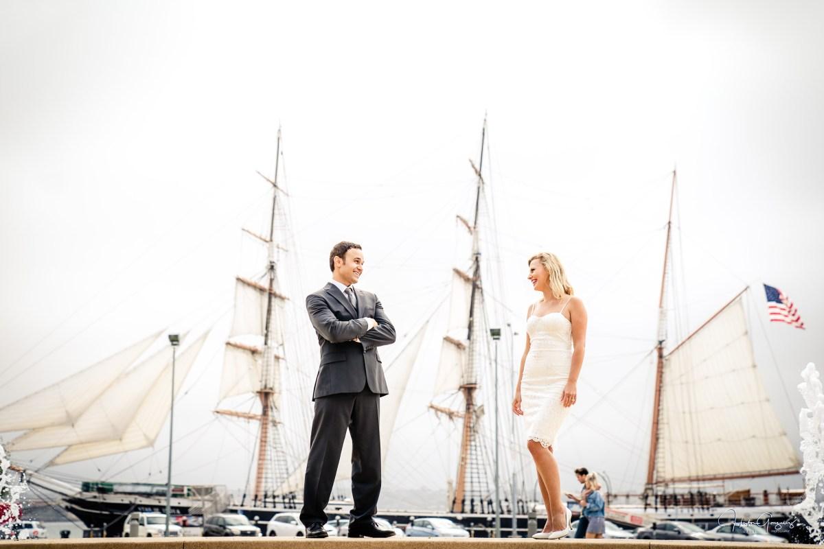 Zouls Photography Amazing Madalina & Nathan's Wedding at the San Diego Courthouse