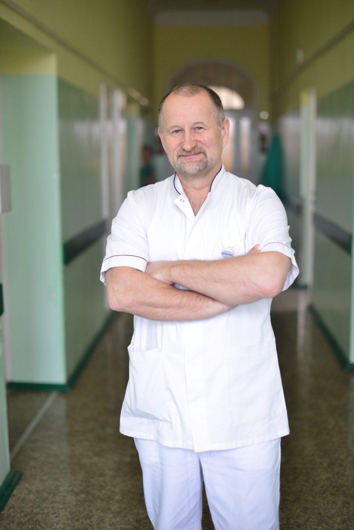 Stanisław Goliński Pielęgniarz Koordynujący Bloku Operacyjnego