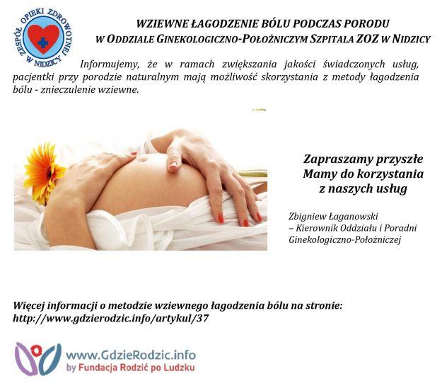 Wziewne łagodzenie bólu podczas porodu