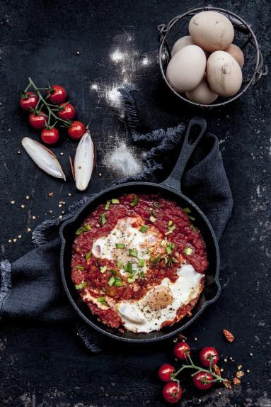 Zdjęcie - Szakszuka obiad w 15 minut - Przepisy kulinarne ze zdjęciami
