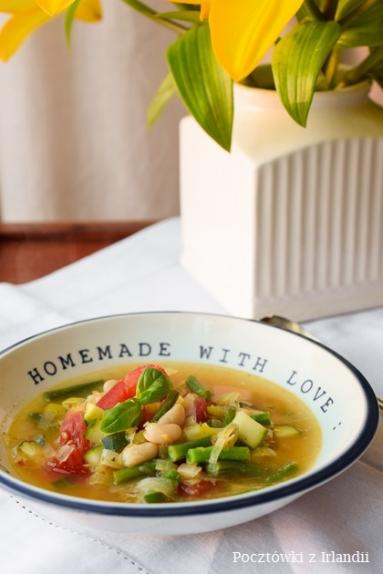 Zdjęcie - Prowansalska soupe au pistou | U stóp Benbulbena - Przepisy kulinarne ze zdjęciami