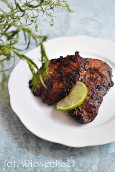 Zdjęcie - Kurczak limonkowo-miodowy - Przepisy kulinarne ze zdjęciami