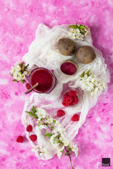 Zdjęcie - Koktajl z buraka i malin - Przepisy kulinarne ze zdjęciami
