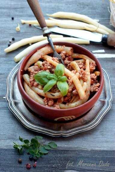Zdjęcie - Fasolka szparagowa z mielonym mięsem - Przepisy kulinarne ze zdjęciami
