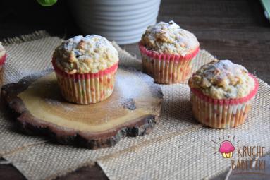 Zdjęcie - Muffiny na kefirze z jabłkiem i żurawiną - Przepisy kulinarne ze zdjęciami