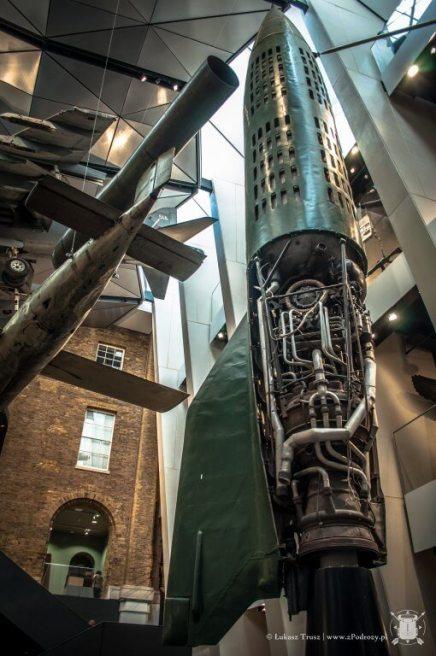 Imperial War Museum - rakiety V1 i V2