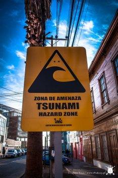 Całe miasto leży w strefie tsunami