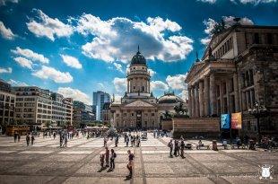 Gendarmenmarkt - plac między katedrami