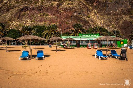 Teneryfa - Playa de Las Teresitas