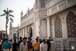 Bombaj (Indie) - Haji Ali Dargah - meczet na wodzie