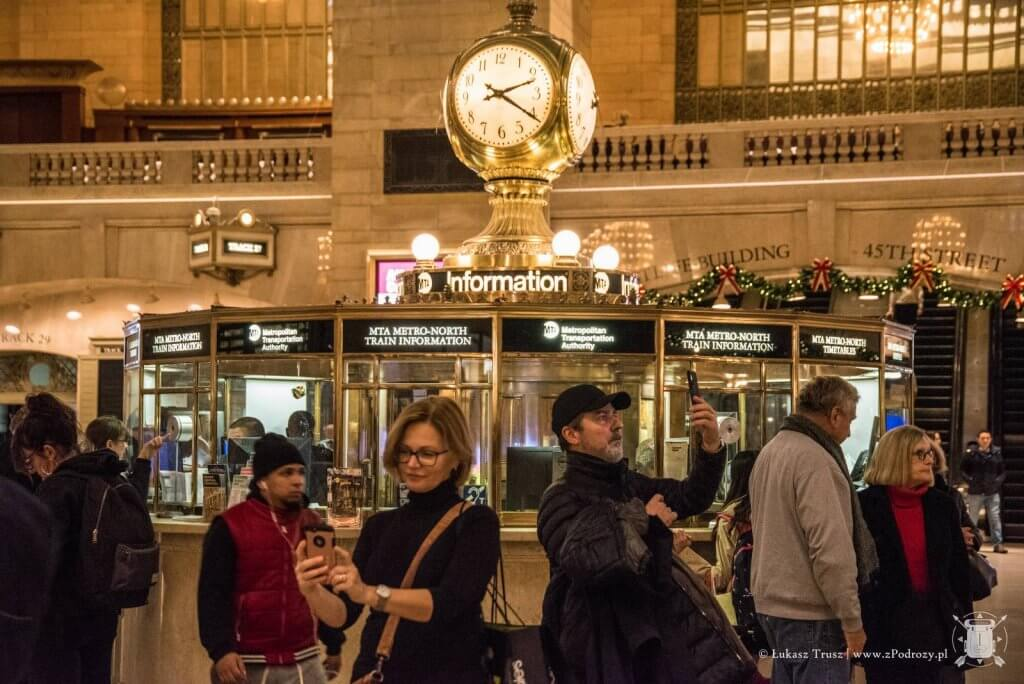 Grand Central Terminal - Środkowy Manhattan - Nowy Jork