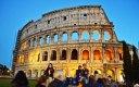 Koloseum, Řím, Itálie; Lucka Kenkušová, E