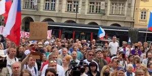 demonstrace Praha 9 6 2021a