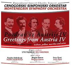 Koncert Pozdrav iz Austrije IV Concert Greetings from Austria IV