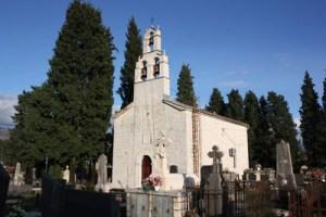 Crkva na erania glavici u Danilovgradu