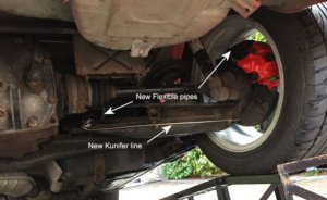 Replacement of steel brake lines with Kunifer   BMW Z1 Z4 Z8 Z3 Forum and Technical Database